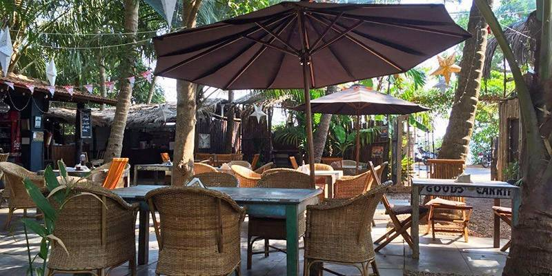 Best North Goa Restaurants - Jardin d Ulysse Morjim