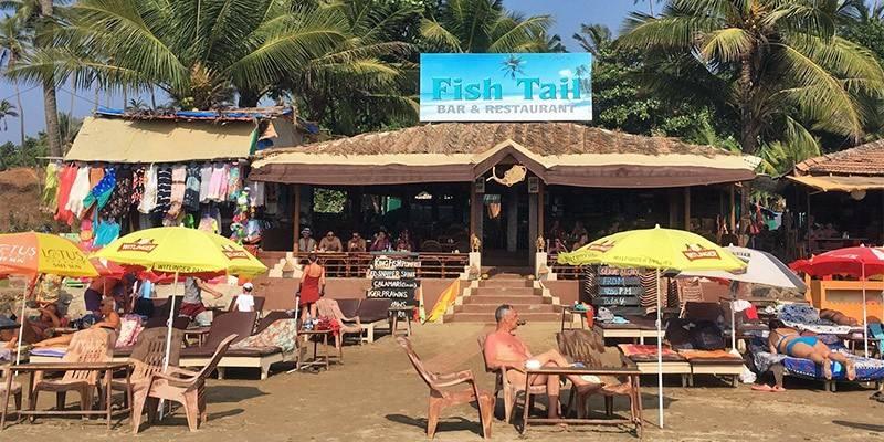 Favorite Beach Shacks in North Goa - Fish Tail