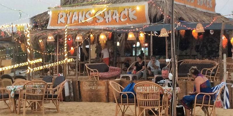Favorite Beach Shacks in North Goa - Ryan's Shack