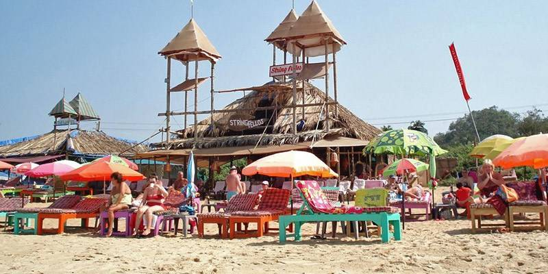 Favorite Beach Shacks in North Goa - Stringfellows Beach Shack