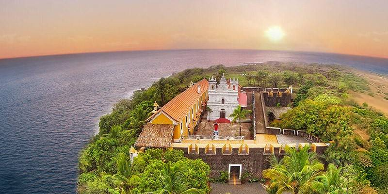 Offbeat Places in Goa - Fort Tiracol Goa