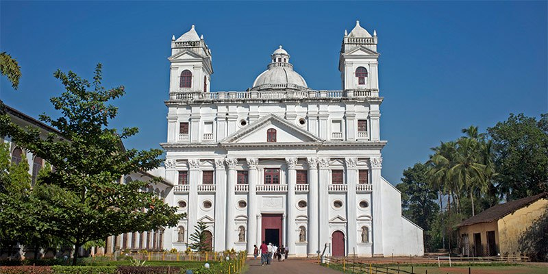 Church of St. Cajetan - Places to See in Old Goa