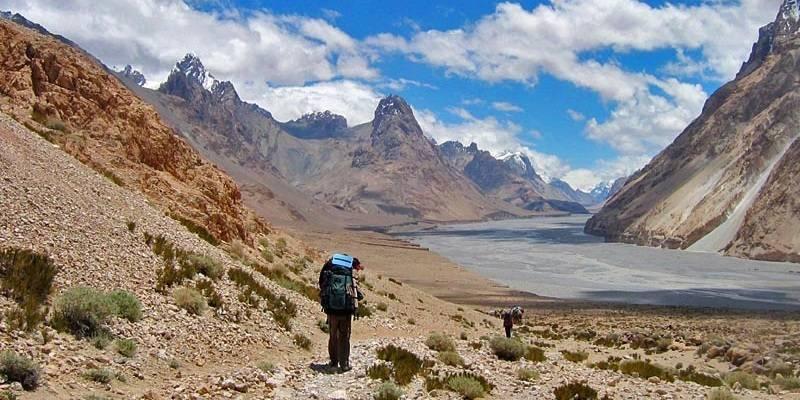 Places near India-China Border: Shaksgam valley