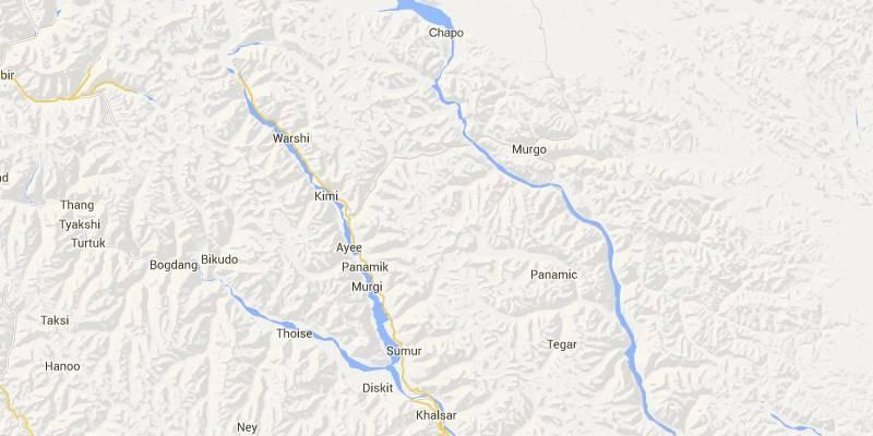 Places near India-China Border: Murgo