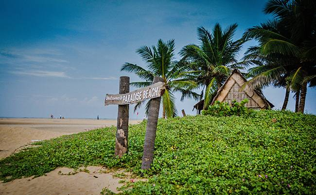 paradise beach pondicherry