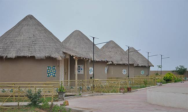 Bhungas at Gateway to Rann Resort - Guide to Rann Utsav