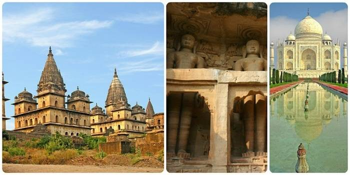 Best Road Trips from Delhi : Agra - Gwalior - Orchha