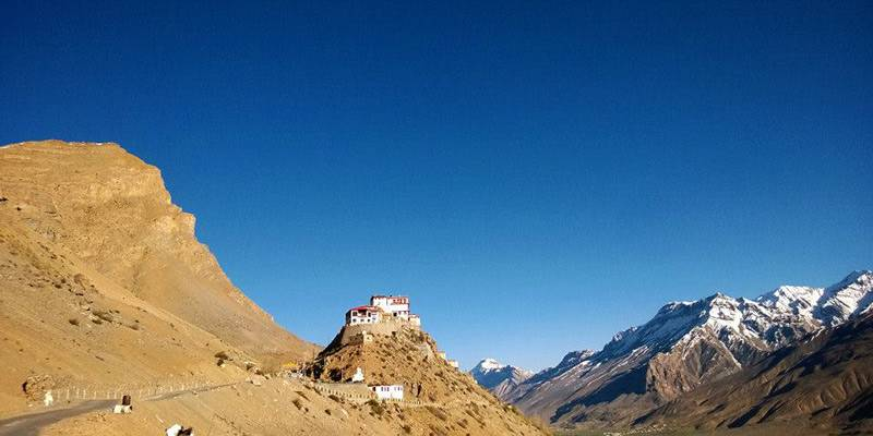 Enchanted Spiti - Bike Trip - Key Monastery Spiti