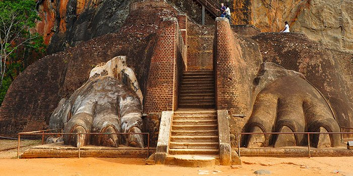 Clming to top of Sigiriya - Things To Do on a Sri Lanka Holiday