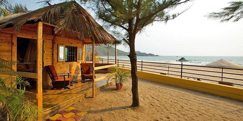Things to do in Goa - Stay in a shack