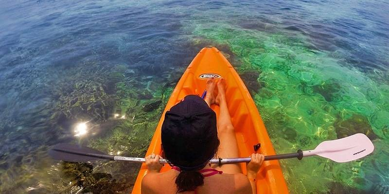 Things to Do in Lakshadweep - Sea Kayaking