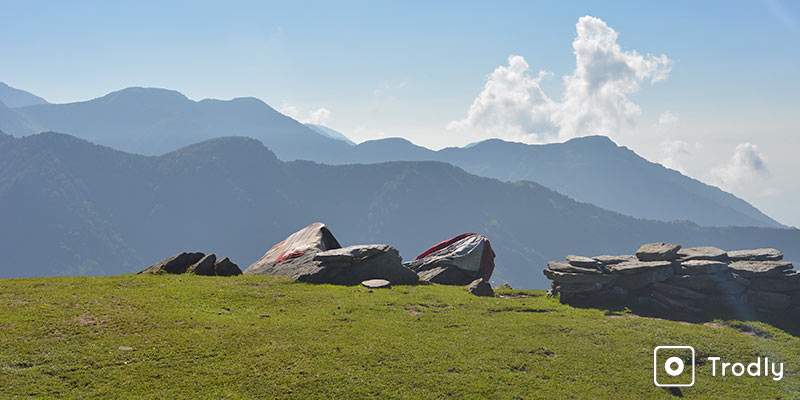Treks around Mcleodganj - beyond Triund