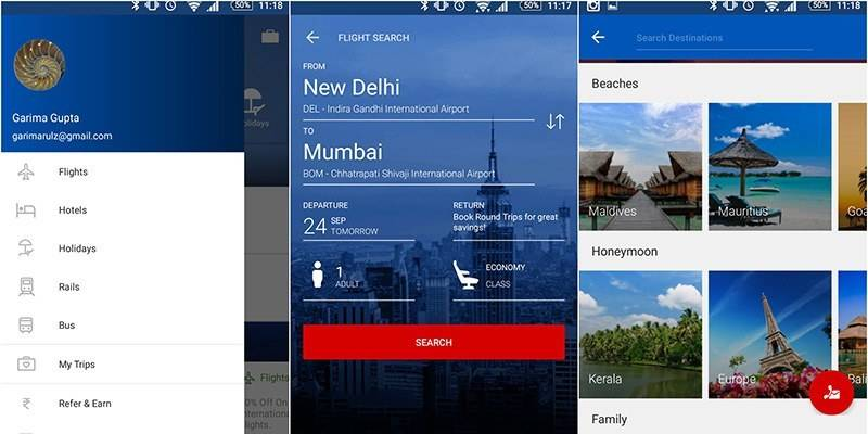 Must-Have Travel Apps For India - Makemytrip