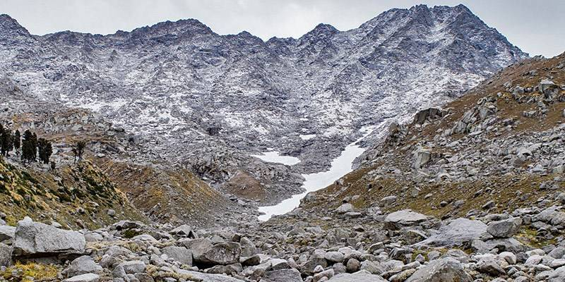 Winter Treks in India - Indrahar Pass Trek