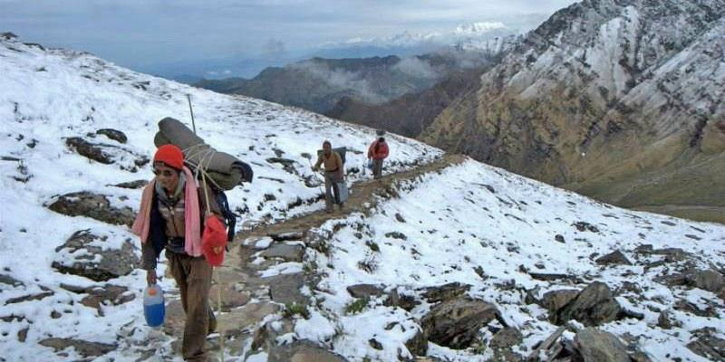 Winter Treks in India - Roopkund Lake Winter Trek