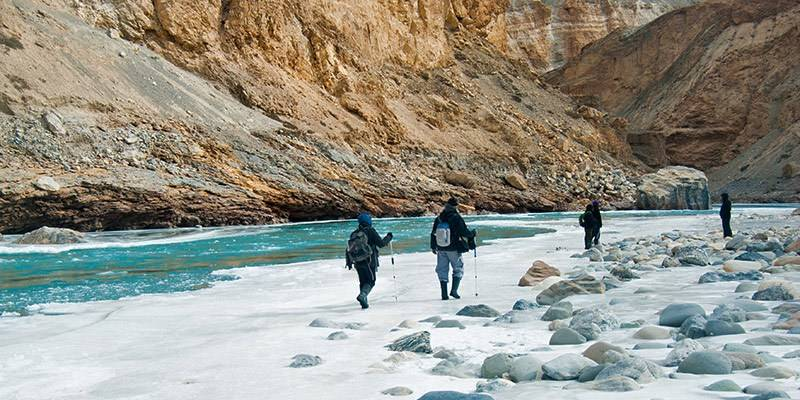 Winter Treks in India - Chadar Trek